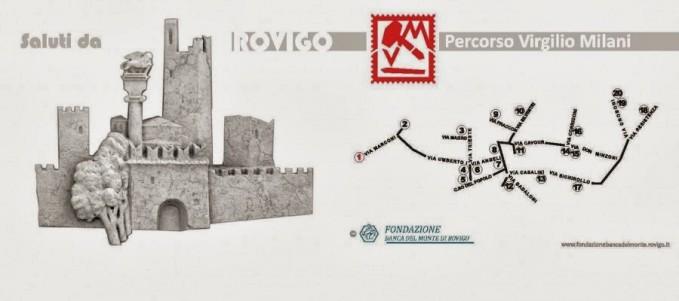 Rovigo - percorso Virgilio Milani